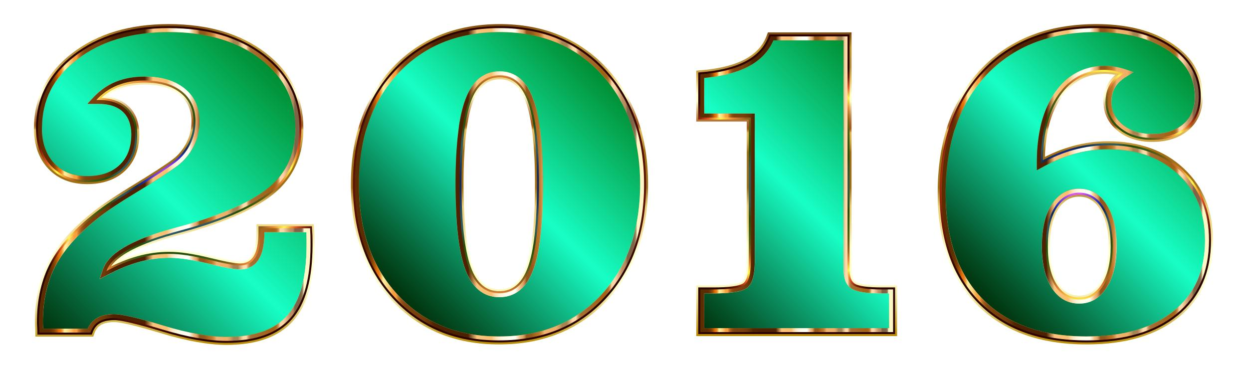 2500x740 2016 Typography 10 Clipart