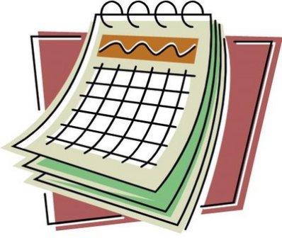 2017 Calendar Clipart
