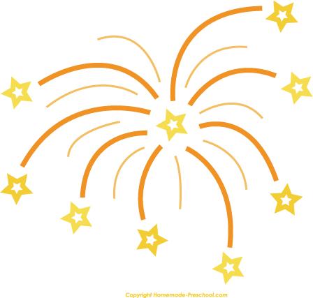 448x427 Fireworks New Year 2017 Clip Art 8675434