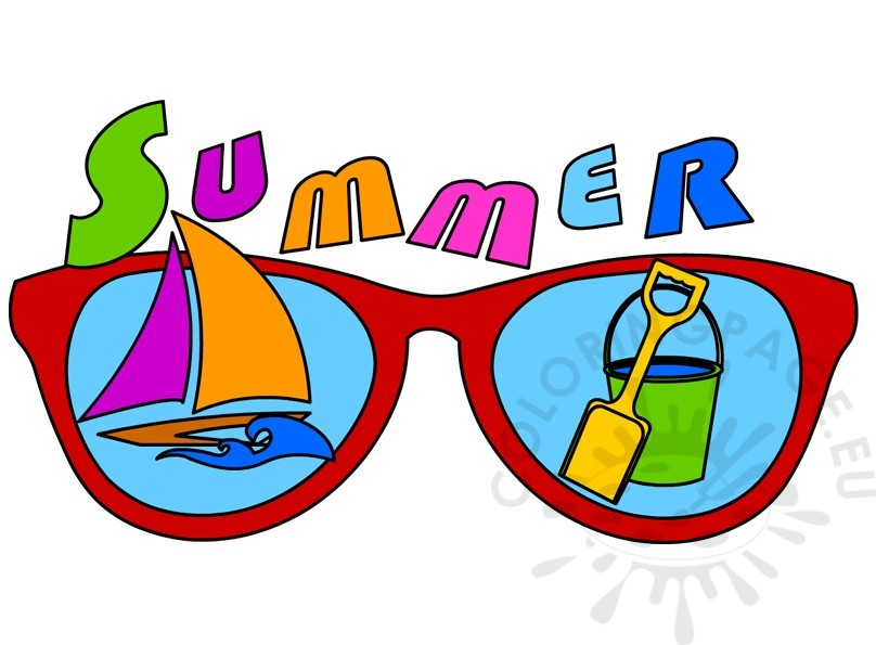 808x595 Summer 2017 Pictures Clip Art Coloring Page