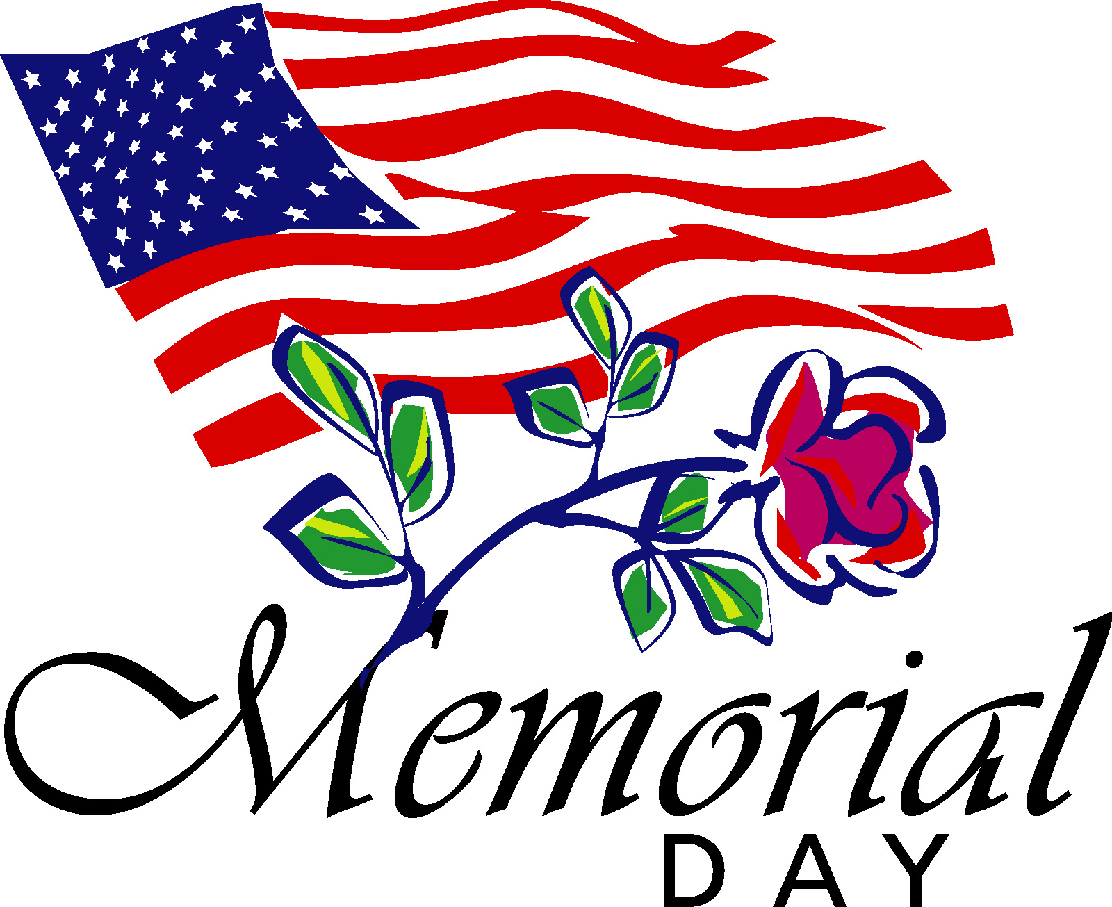 1600x1305 Animated Memorial Day Clipart Images, Black And White, Free