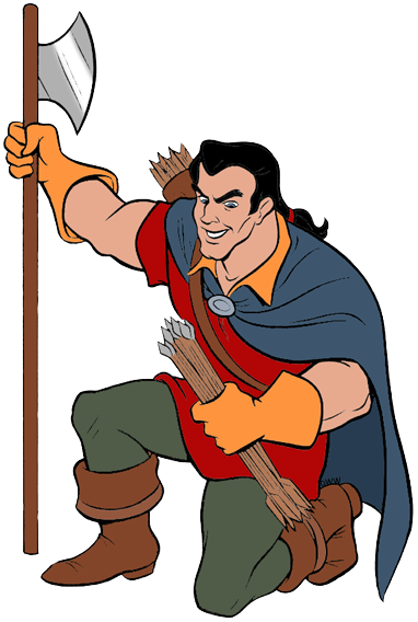 382x568 Gaston And Lefou Clip Art Disney Clip Art Galore