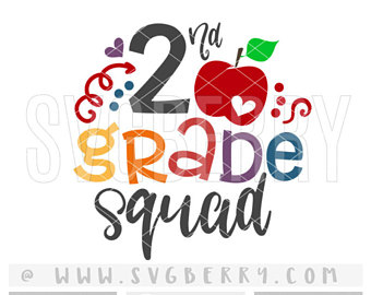 340x270 Second Grade Nailed It Svg 2nd Grade Svg 2nd Grade Second
