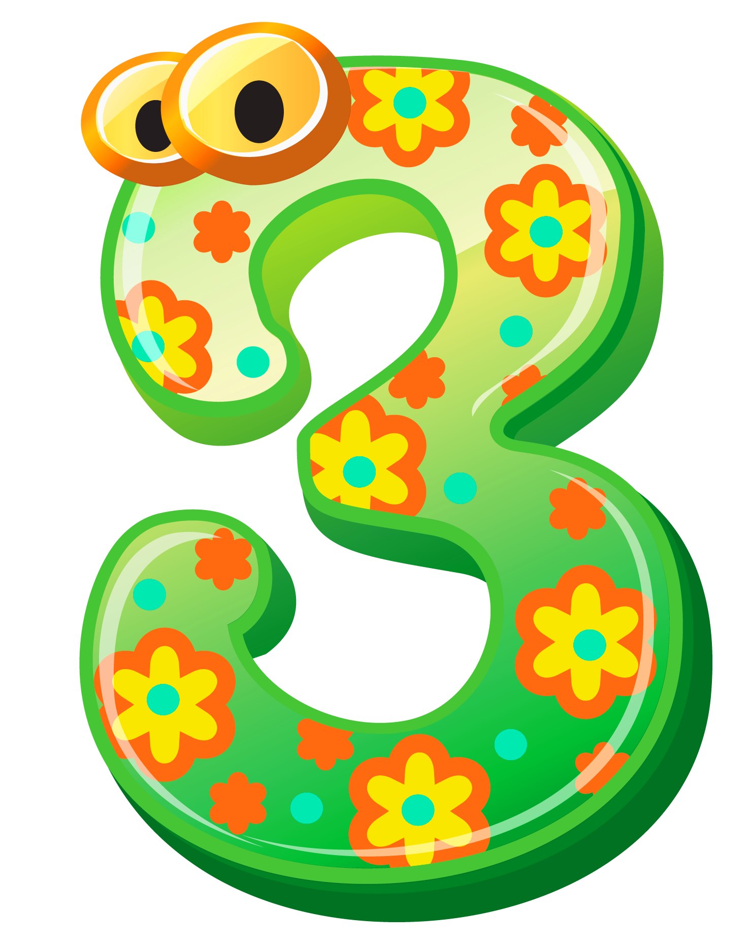 1477x1858 Cute Number Three Png Clipart Imageu200b Gallery Yopriceville