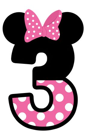 286x455 Iiii Clipart Minnie Mouse Birthday