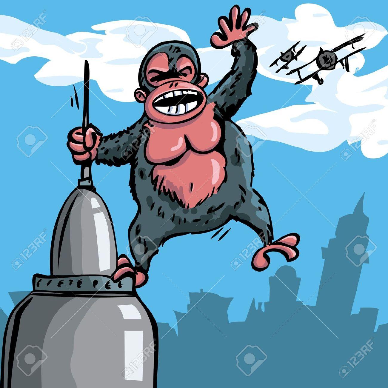 1300x1300 King Kong Clip Art Clipart