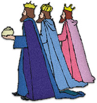 200x211 Three Wise Men Clipart Group
