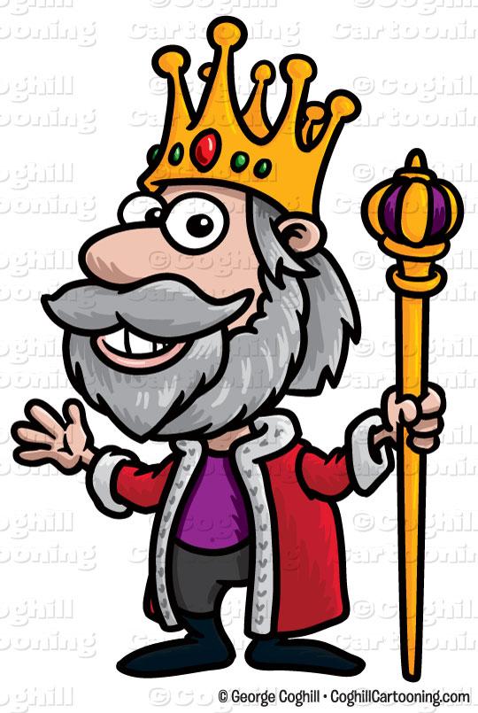 540x805 Cartoon King Clip Art Stock Illustration