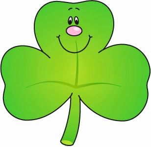 3 Leaf Clover Clipart