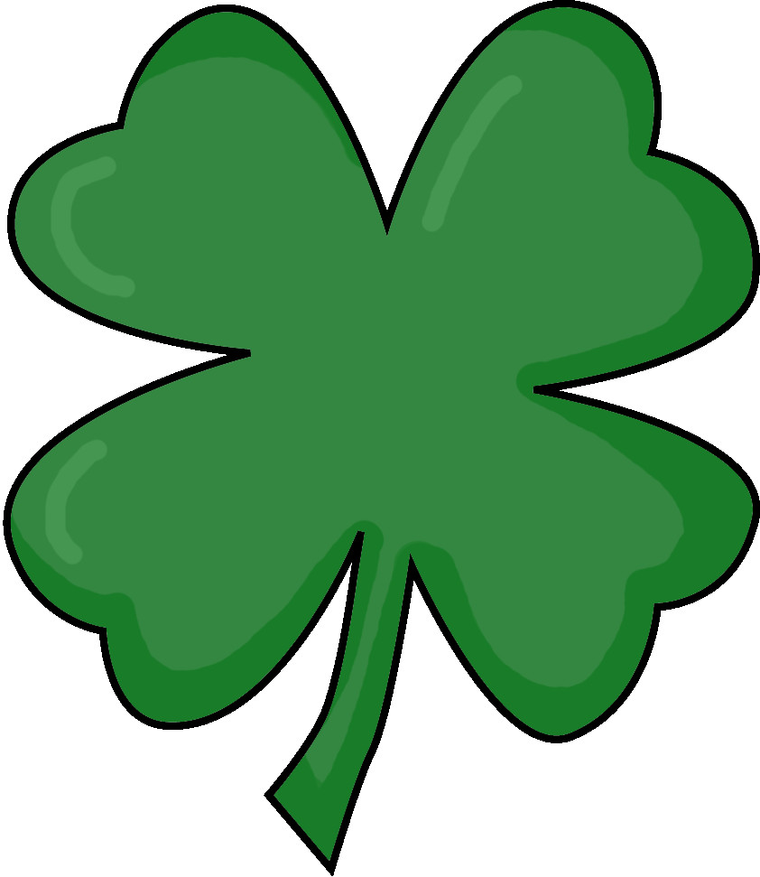 842x971 Happy Pictures Of Four Leaf Clovers Perfect A Clover 3 Clipa 5740