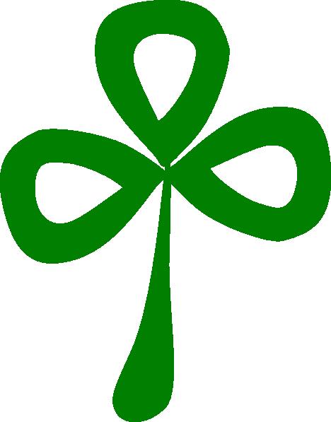 468x597 Three Leaf Clover Clip Art