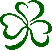217x211 4 Leaf Clover Free Shamrock Clipart Holiday Stpatrick Clip Art 3