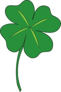 200x300 4 Leaf Clover Royalty Free Clip Art St.patrick's Day