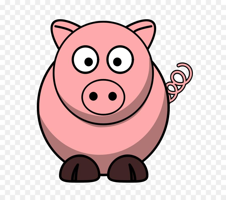 900x800 Domestic Pig Cartoon The Three Little Pigs Clip Art