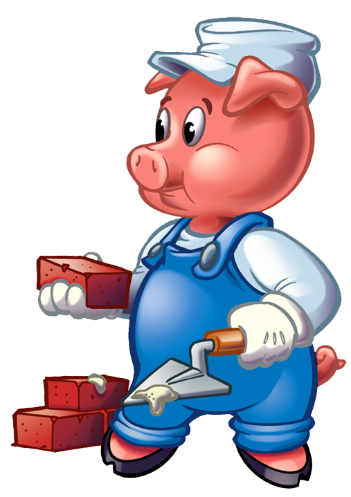 507x719 Three Little Pigs Clip Art Cliparts Co Engineering In K 8