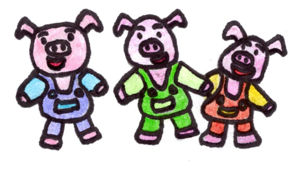 1024x591 Three Little Pigs Burngreave Messenger