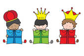 170x113 3 Kings Clipart