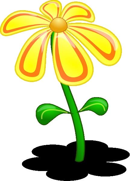 432x600 Flower 3d Clipart 3d Yellow Flower Clip Art At Clker Vector Clip