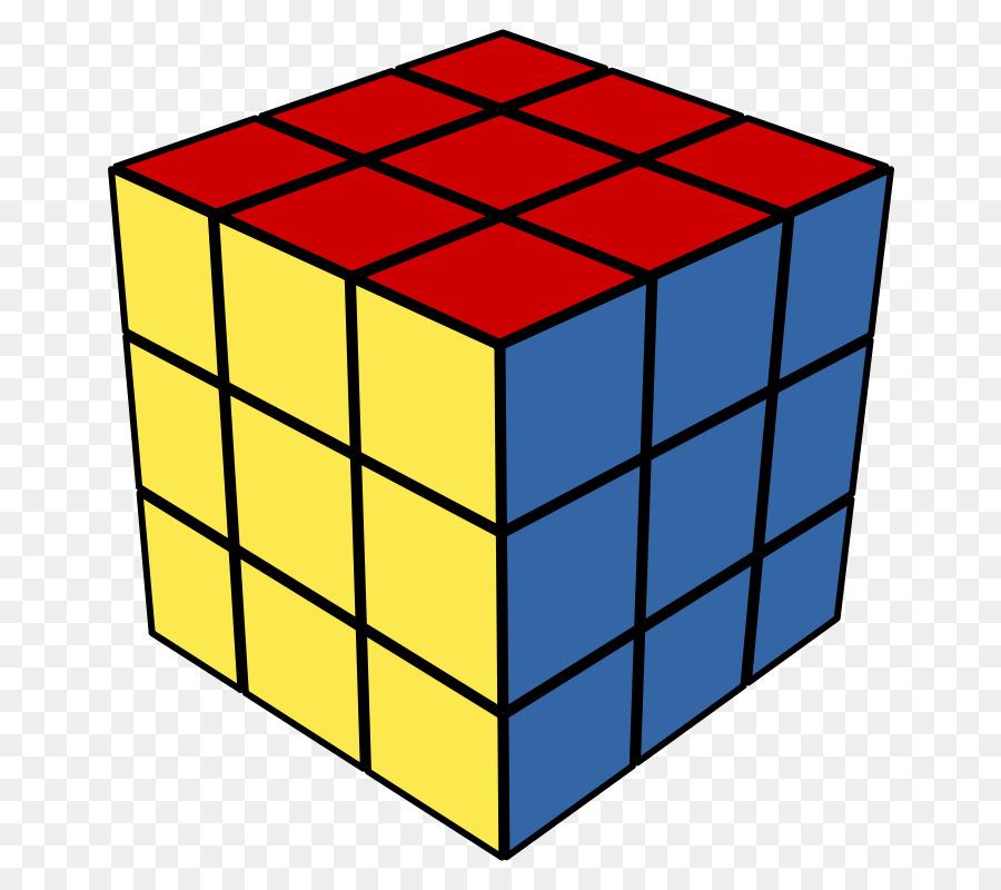 900x800 Rubiks Cube Three Dimensional Space Clip Art
