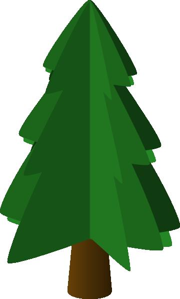 360x597 Tree Symbol 3d Clip Art Free Vector 4vector