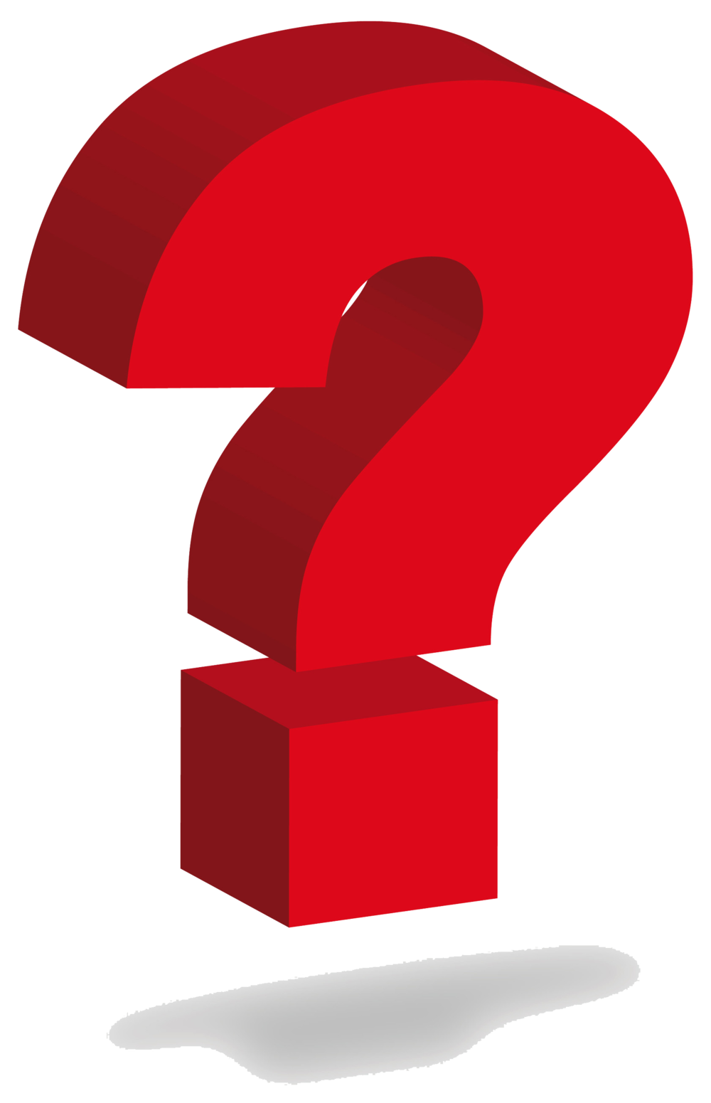 1000x1551 3d Clipart Question Mark