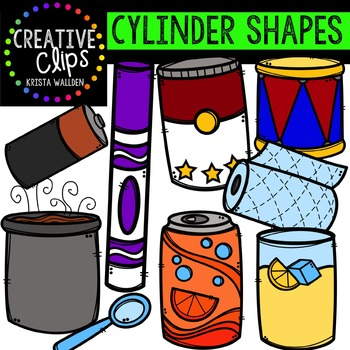 350x350 3d Shapes Clipart Bundle {Creative Clips Digital Clipart} Tpt