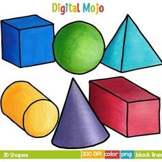 236x236 Free Clip Art 3d Shapes Shape 3d Learning The 3d Shapes For Kids