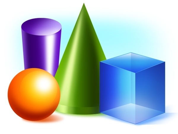 600x450 3d Shapes Clip Art World Of Example