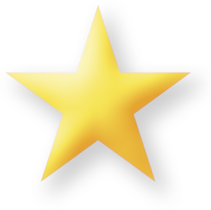 300x298 Star D Yellow Large Free Images