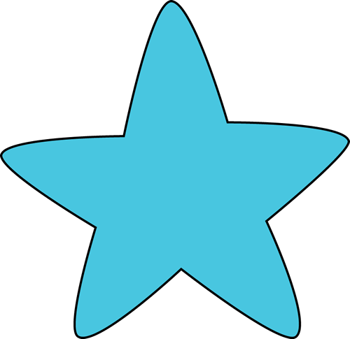 500x485 Blue Star Clipart Blue Rounded Star Clip Art Blue Rounded Star