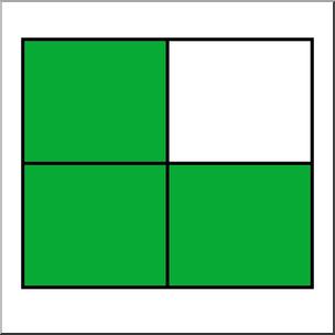 304x304 Clip Art Rectangle04 34 Color I Abcteach