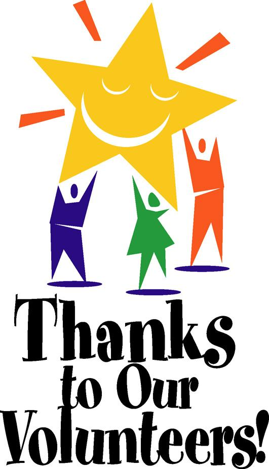 531x924 Thank You Volunteer Clip Art Free Clipart Images 4
