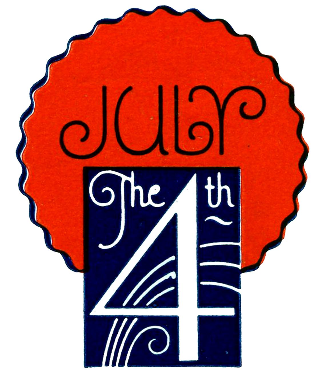 1113x1350 Vintage Patriotic Clip Art