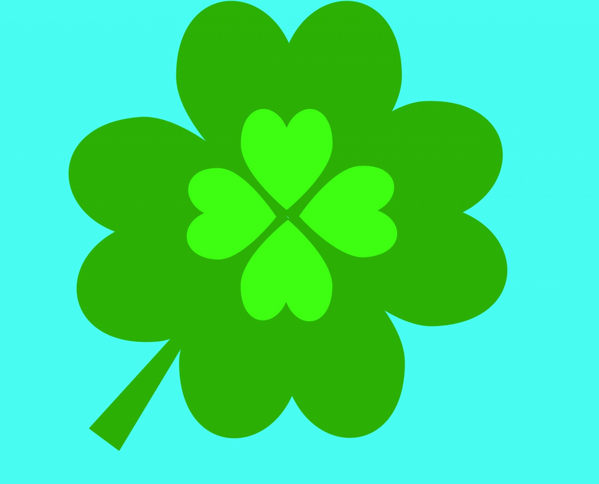 1920x1554 Four Leaf Clover Clip Art Free Stock Photo