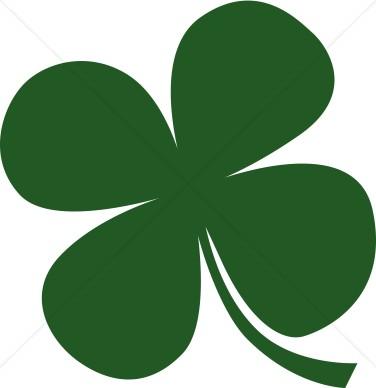 376x388 Four Leaf Clover Clipart St. Patrick's Day Clipart