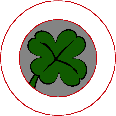 490x490 Free Clover Clipart