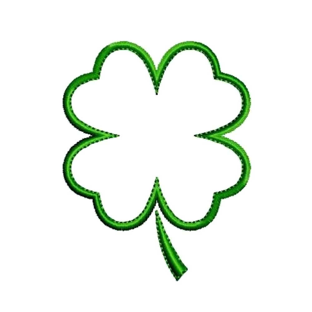 4 leaf clover clipart at getdrawings com free for personal use 4