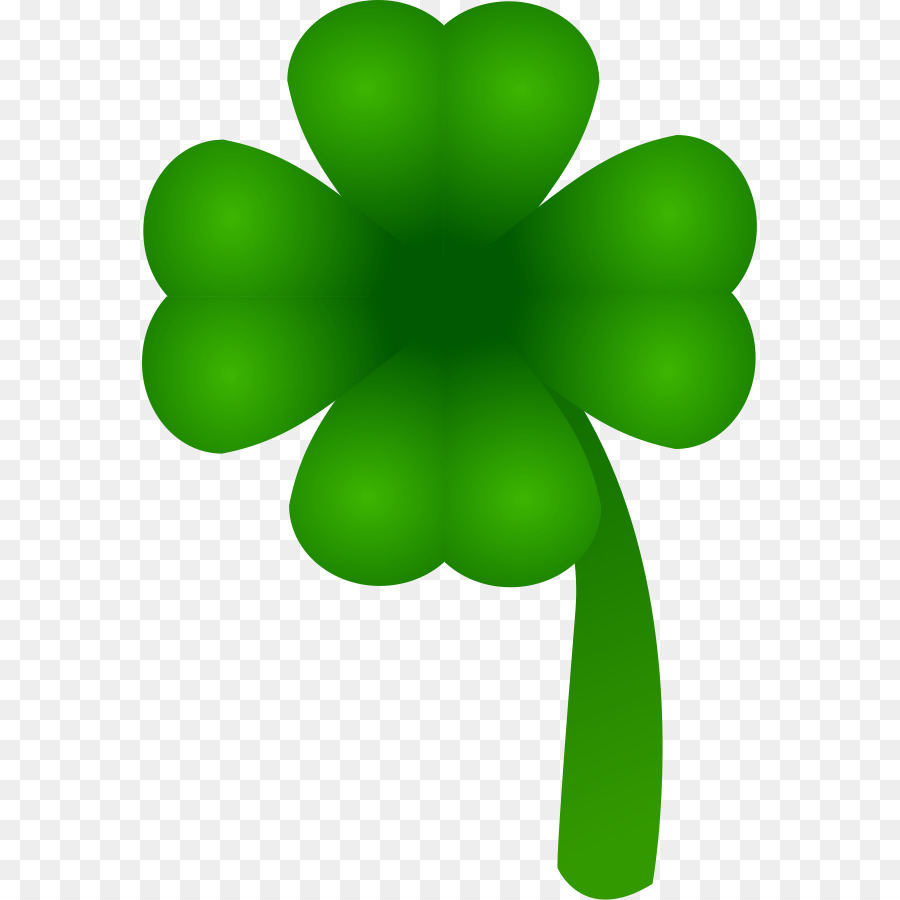 900x900 Ireland Saint Patrick's Day Four Leaf Clover Shamrock Clip Art