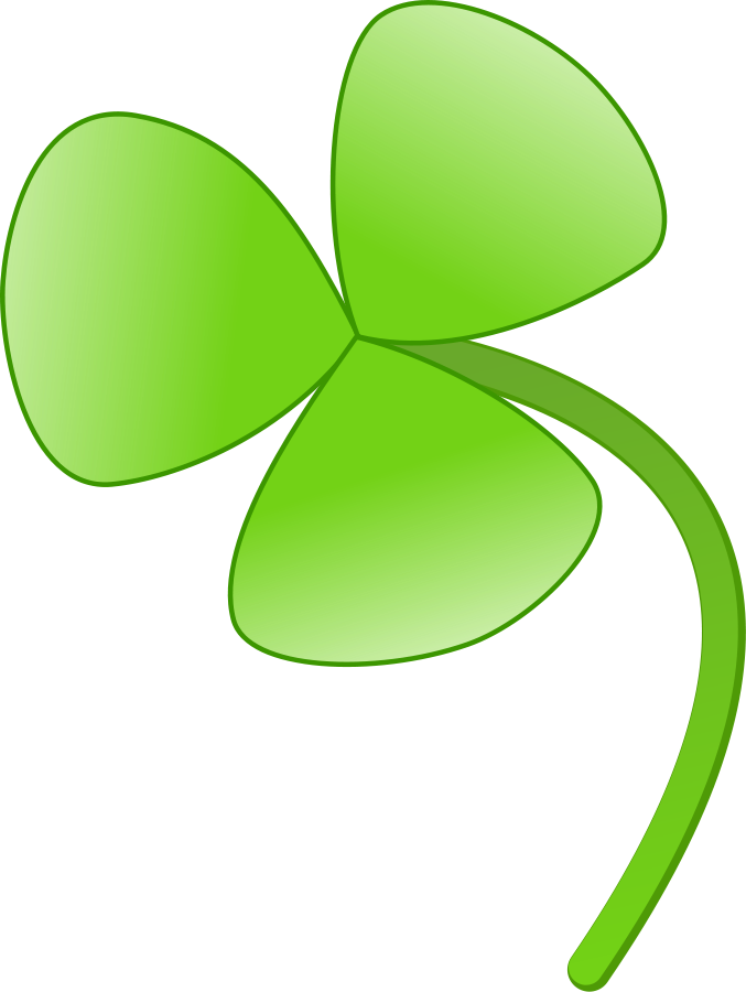 677x900 Picture Of Four Leaf Clover