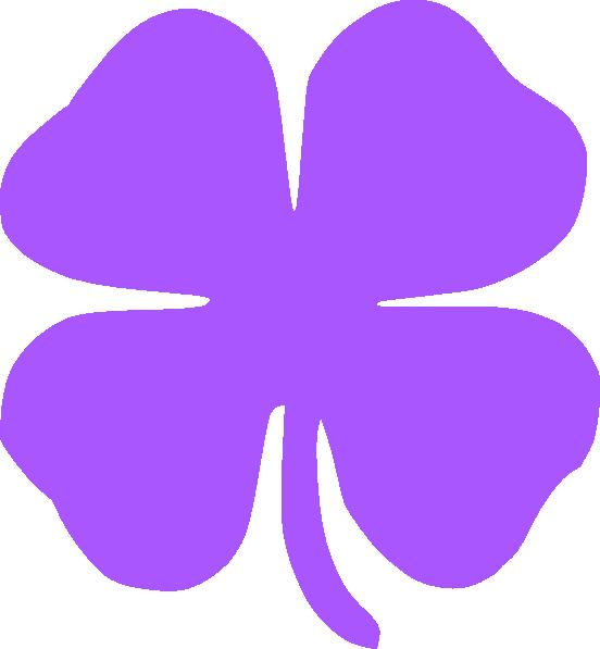 552x597 4 Leaf Clover Clip Art