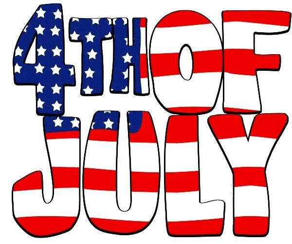 600x500 Free (Fourth) 4th Of July Clipart Animated, Black And White