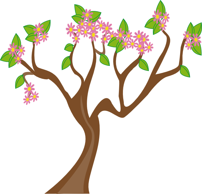 700x671 Tree Spring Clipart