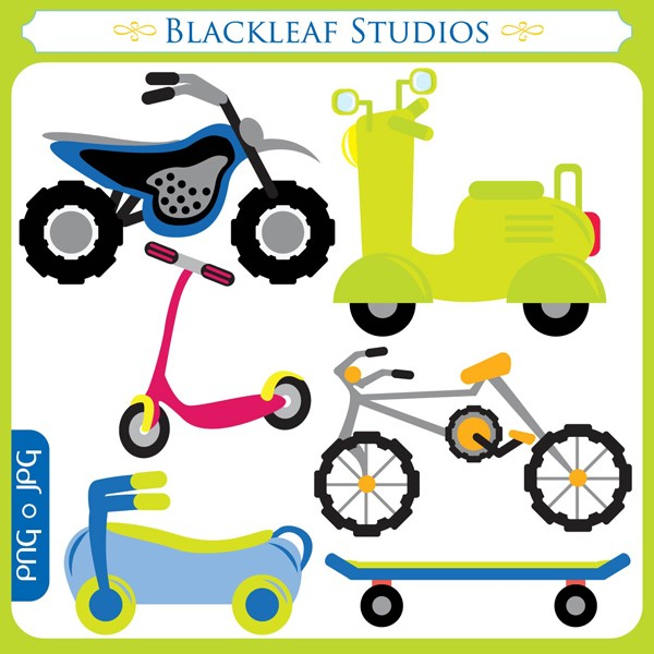600x600 Scooter Clipart Bicycle Free Collection Download And Share