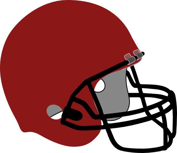 600x519 Collection Of Red Football Helmet Clipart High Quality, Free