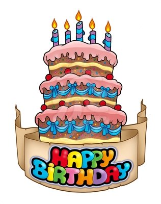316x400 Birthday Cake Clip Art Pictures 4th Birthday Cake Clipart 1