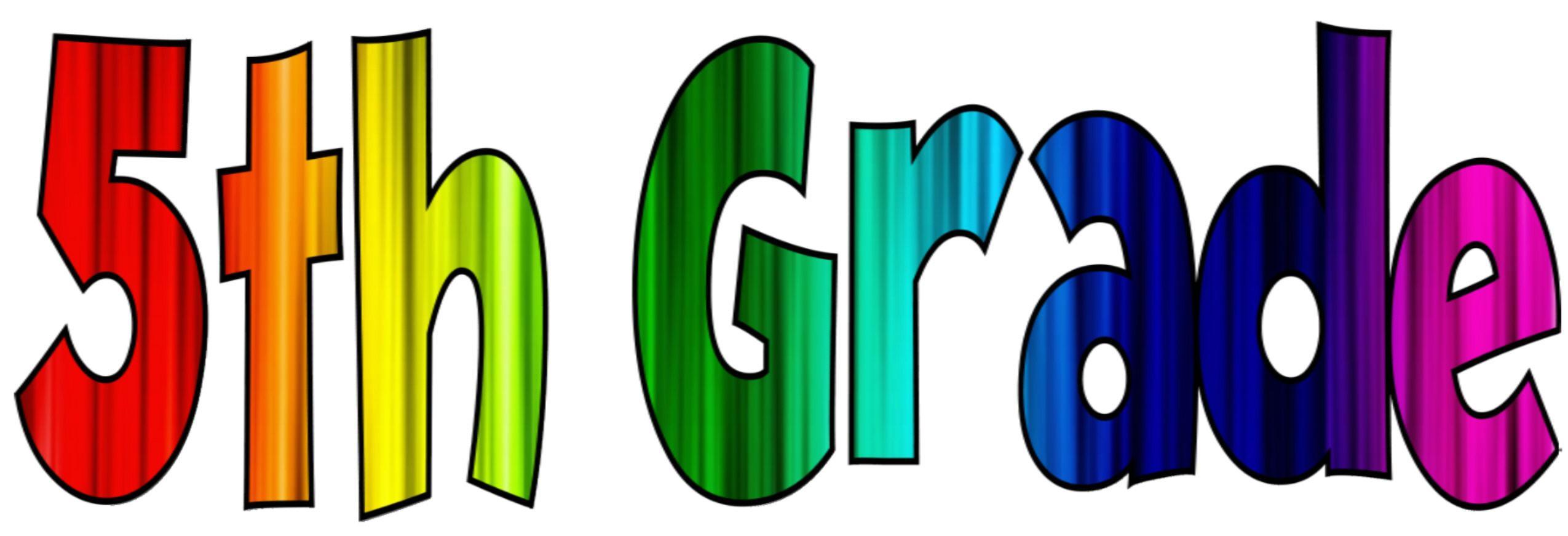 2550x871 Clip Art 5th Grade Grade Promotion Sunset Elementary Edmond Public