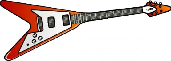 555x200 Guitar Clip Art 4th Grade Rocks Clipart Panda