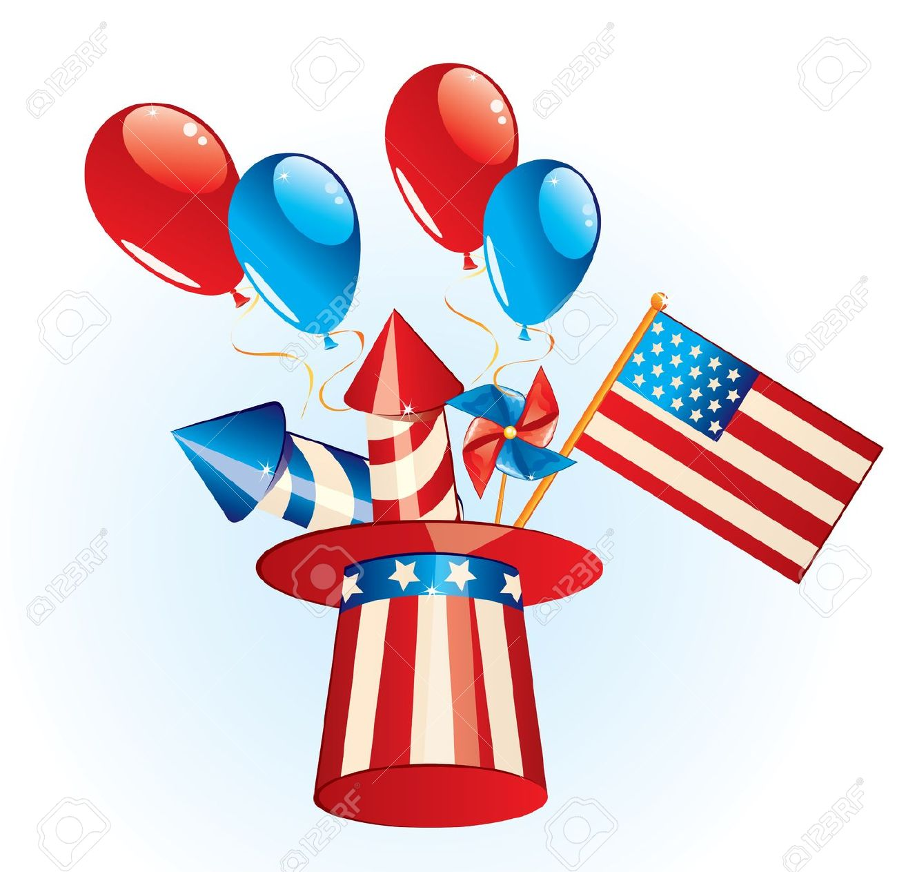 1300x1263 Independence Day Fireworks Clip Art Clipart Collection