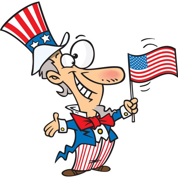 610x610 Uncle Sam Clipart Kid