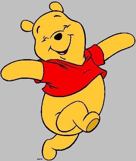 437x517 Pooh Bear Clip Art